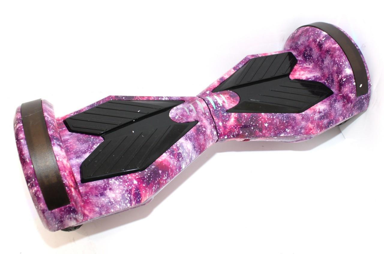 Гироборд Segway Гироскутер Сигвей 8 дюймов самобаланс, Фиолетовый космос