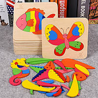 Деревянная игрушка Феерия пазлов, развивающие товары для детей.