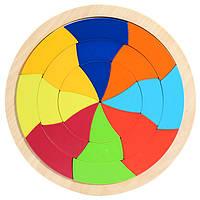 Деревянная игрушка Головоломка «Улиткин дом», развивающие товары для детей.