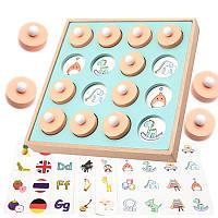 Деревянная игрушка МЕМО: Окружающий мир, развивающие товары для детей.