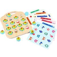 Деревянная игрушка МЕМО: Окружающая среда, развивающие товары для детей.