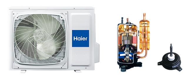Инверторный компрессор - кондиционеры Haier