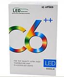 Комплект LED ламп, Лампы для авто, Комплект автомобильных LED ламп MHZ C6 H3, фото 2