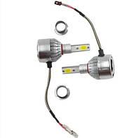 Комплект LED ламп, Лампы для авто, Комплект автомобильных LED ламп MHZ C6 H3, фото 1