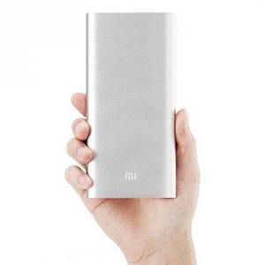 Портативная зарядка для телефона в стиле Xiaomi Power Bank 20800 mAh серебро 130116