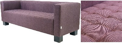 Диван трехместный Спейс фиолетовый - картинка