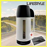 Чайник электрический для автомобиля Domotec MS-0823 + ПОДАРОК!!! Нож-визитка CardSharp