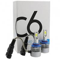 Комплект LED ламп, Лампы для авто, Комплект автомобильных LED ламп MHZ C6 H11