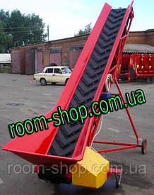 Ленточный конвейер (погрузчик, транспортер) ширина 300 мм длинна 3 м.