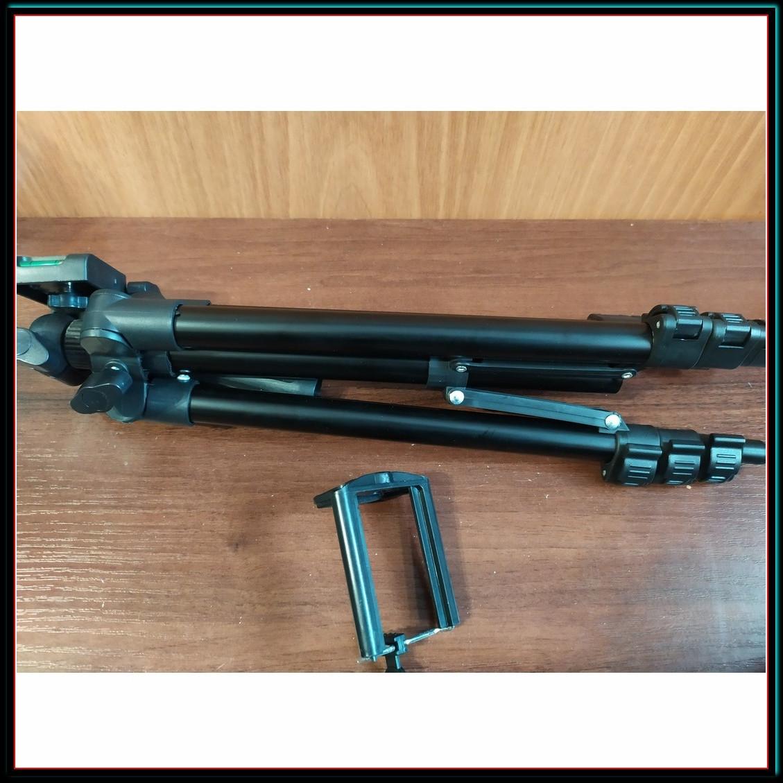 Штатив для фотоаппарата трипод 3120A черный + чехол