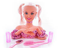 Кукла DEFA 20957, Голова для причесок