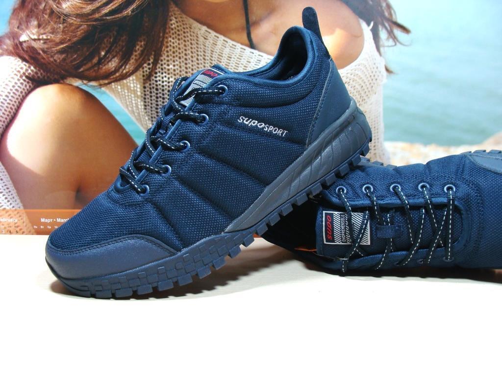 Термо кроссовки -Supo Waterproof синие 44 р.