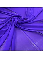 Ткань Шифон цвет Сиреневый (ш. 150 см) для пошива платьев,юбок, вечерних нарядов