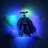 """Детская светящаяся подушка-ночник """"Batman"""", фото 2"""