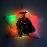 """Детская светящаяся подушка-ночник """"Batman"""", фото 5"""