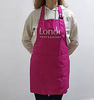 Фартух для майстра манікюру плащівка Londa Professional, рожевий
