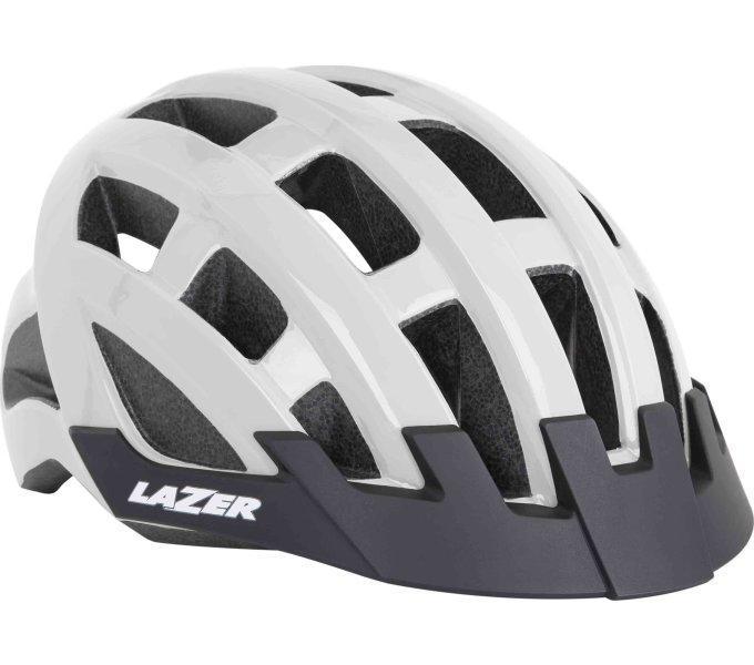 Шолом LAZER Compact, білий