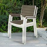 Стілець садовий вуличний Keter Harmony Armchair, фото 10