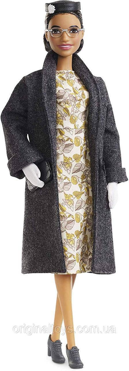 Колекційна лялька Барбі Роза Паркс Barbie Inspiring Women Rosa Parks