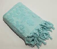 Махровое полотенце 50*90 см. с кисточками. Хлопок