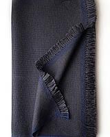 Кашемировый шарф Chadrin с шелком цвета графит, фото 1