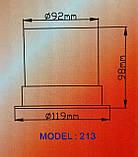 Мигалка led  светодиодная желтая 12v, 24v, фото 4