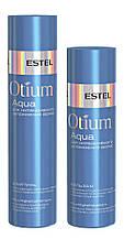 Шампунь и бальзам для интенсивного увлажнения волос Estel Otium Aqua