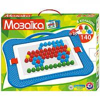 Мозаика для детей Машинка 140 деталей Техн.3381