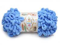Alize Puffy, Темно-голубой №289