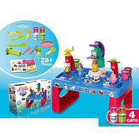 Детский набор для творчества пластилин MK 3880 28 предметов в наборе