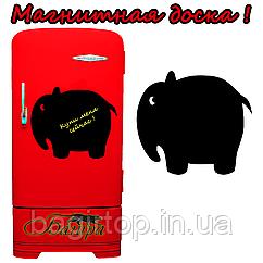 Магнітна дошка на холодильник Слон (30х45см)