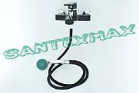 Смеситель для ванны из термопластичного пластика Plamix Oscar 009-2 black