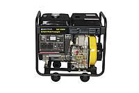 Дизельный электрогенератор Кентавр КДГ-505 ЭК 5.5 kW медная обмотка