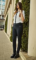 Зимние брюки увеличенных размеров на байке №1829 (меланж)