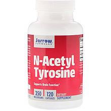 "N-ацетил-тирозин Jarrow Formula ""N-Acetyl Tyrosine"" 350 мг (120 капсул)"