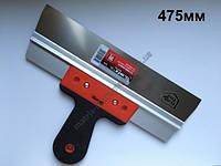 Шпатель фасадный из нержавеющей стали, 475 мм, 2-комп. ручка MTX
