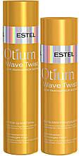Крем-шампунь и бальзам-кондиционер для вьющихся волос Estel Otium Wave Twist