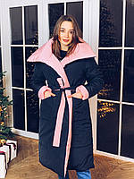 Зимнее пальто двустороннее К 0012 с 01