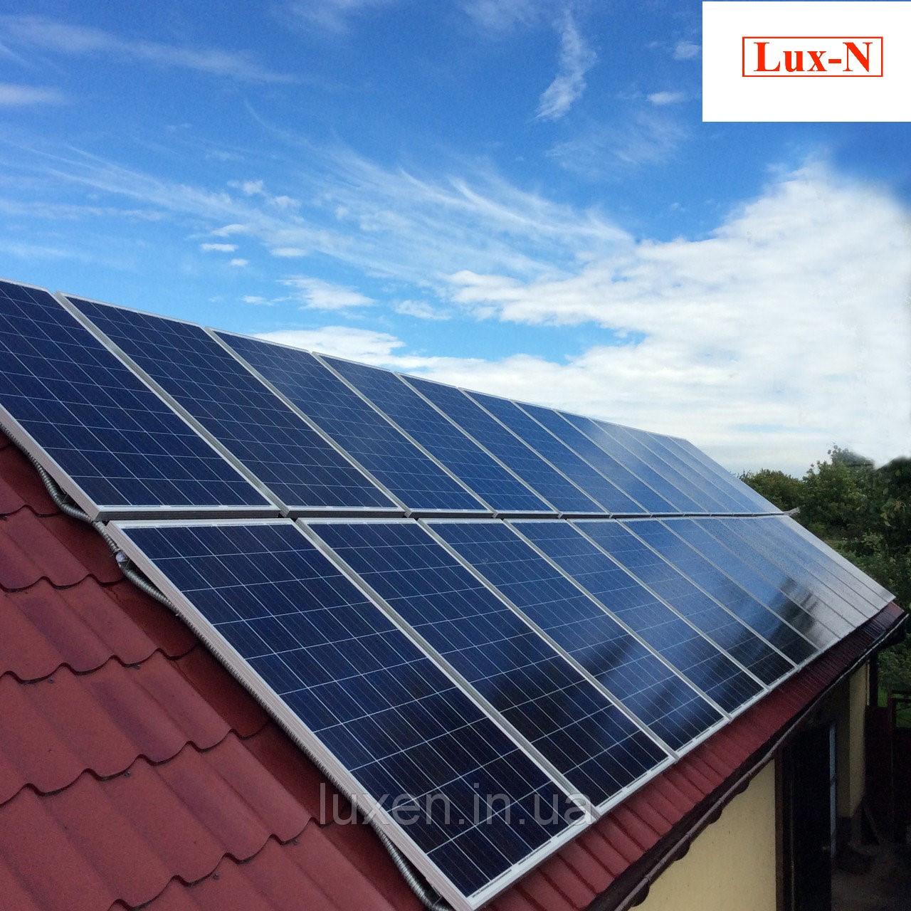 """Мережева сонячна електростанція 30 кВт, 380 В, під """"зелений тариф"""". Сетевая солнечная электростанция 30 кВт, фото 1"""