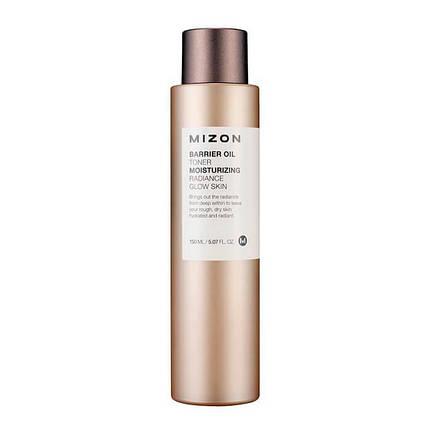 Тонер с маслом оливы, повышающий защитный барьер кожи MIZON Barrier Oil Toner, 150 мл, фото 2