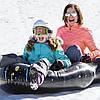 Двухместный надувной сани - тюбинг для катания Bestway 39014, 168 х 119 см, Цвет черный., фото 5