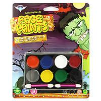 Грим карнавальный Хэллоуин (4 цвета)