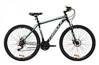 """Велосипед горный мужской 29"""" Formula Thor 1.0 2021 рама 20"""" черно-зеленый"""