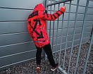 Зимняя парка ORANGE Off White оранжевая мужская, фото 4