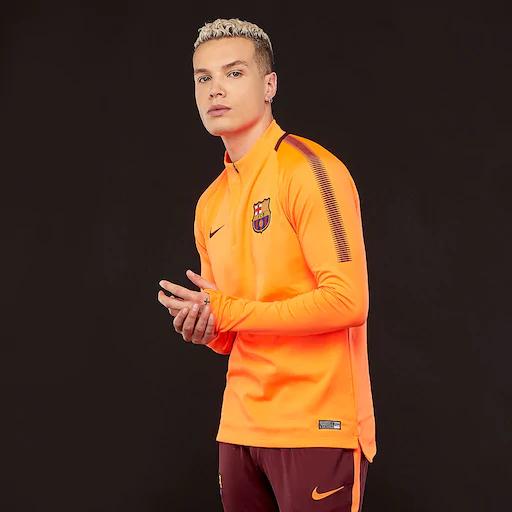 Флиска \ футболка Nike FC Barselona Dri-FIT | размер - S