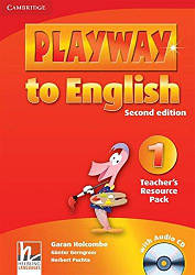 Playway to English 1 Teacher's Resource Pack with Audio CD