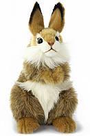 Hansa - Реалистичная мягкая игрушка Коричневый заяц, 24 см