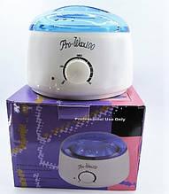 Воскоплав баночный Pro-Wax 100 для воска в банке , в гранулах и таблетках и плавления парафина.