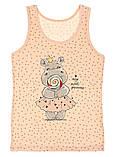 Майки детские для девочек ТМ Donella оптом р.2/3 года (98-104 см), фото 2