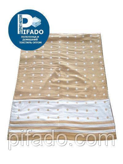Покрывало. Ткань: лен с бамбуковой нитью 2200х2400. Модель P-6